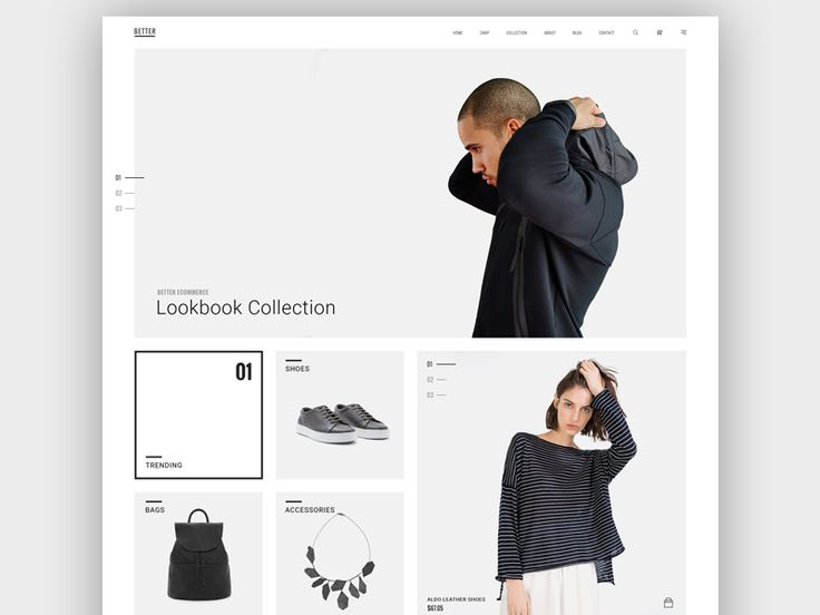 Hi Guys,  My new project for the shop, it uses the more minimalist, clean and modern. Hope you like it, please give me feedback to perfect our product.  Thank you for watching !  Dribbble   Behance