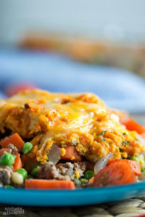 Sweet Potato Shepards Pie