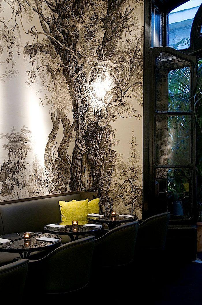 Cafe Artcurial, Paris, France by Gilles  Boissier