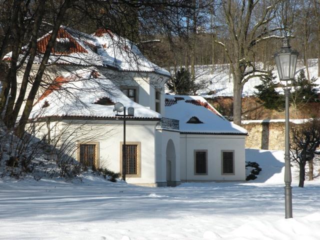 Česko, Břevnov - Záhradní pavilon Vojtěška
