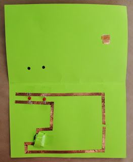 "Part One: Cards         These are the ""card"" projects that I had at Maker Faire Detroit. I'm dividing the projects in two or three posts b..."
