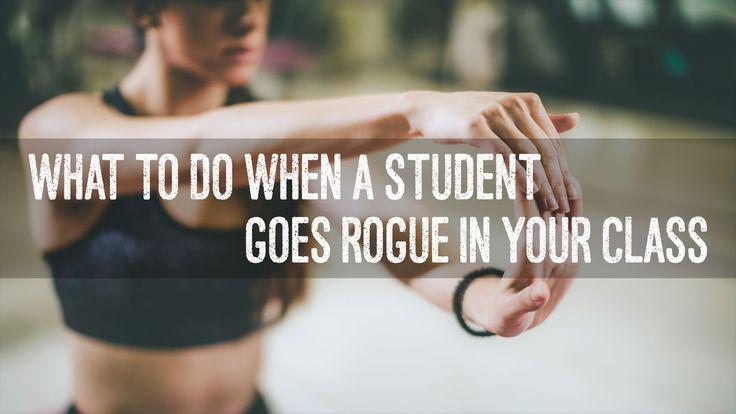 My rogue yogi experiences go something like this...
