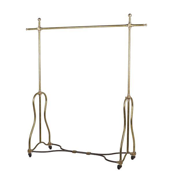 Brass hanger rack  真鍮 ハンガーラック アンティーク ヴィンテージ 店舗 デザイナーズ レストラン モダン modern restaurant vintage antique designer american french coat   ニューヨーク