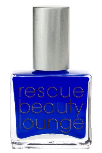 Blueberry nail polish.