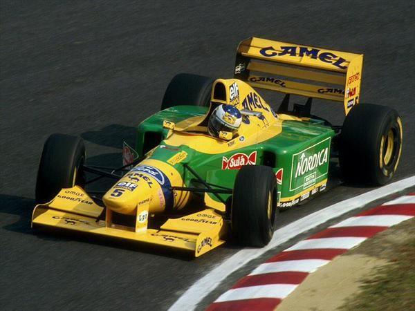 1993 Benetton B193B - Ford (Michael Schumacher)