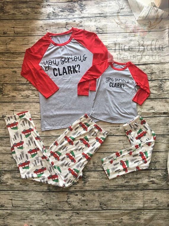 How cute are these for your Family Pajamas for this
