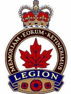 The Royal Canadian Legion..