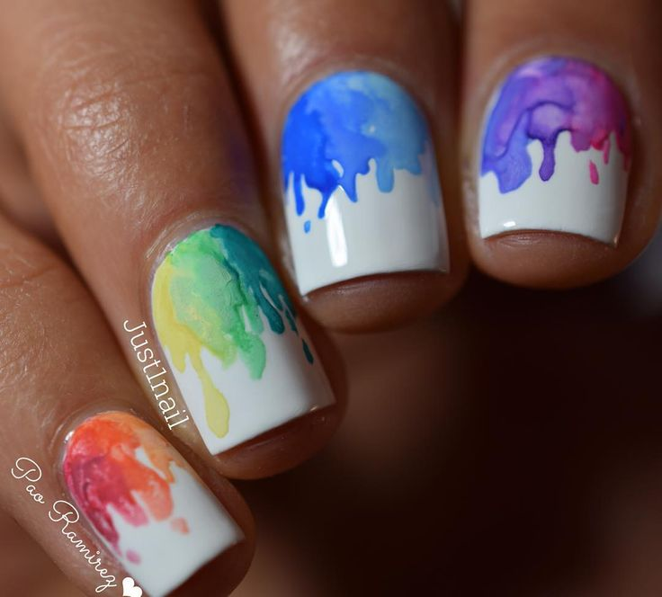 Image result for palette nail ideas