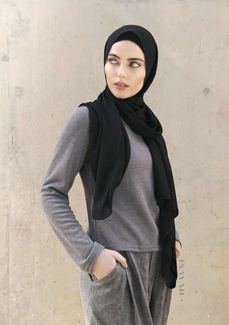 INAYAH | Comfortable and modest dress down ensembles - Ash Concealed #Jumper Grey Linen Blend #Trousers - also available in blue. Both Linen Blend Trousers are now part of our sale! www.inayah.co