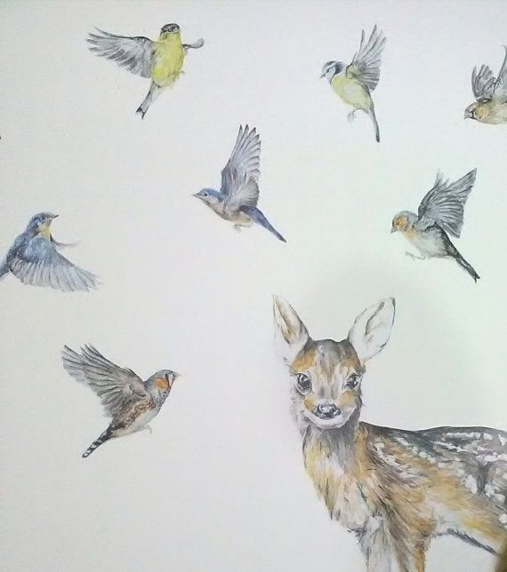 Del pájaro pegatinas oriental bluebird tatuajes de aves