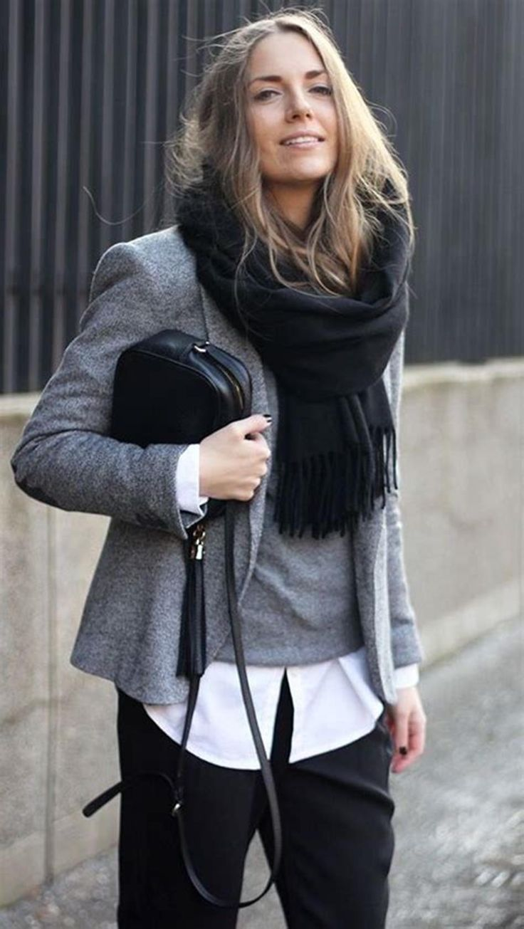 40+ Cute Informal Stylish Winter Work Outfits for Girls