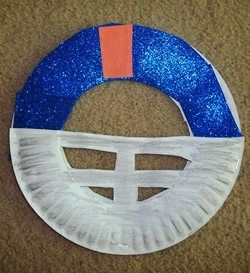 football crafts | Fourth of July Beach and Baseball Craft Ideas And Cards, Pirate Hats ...