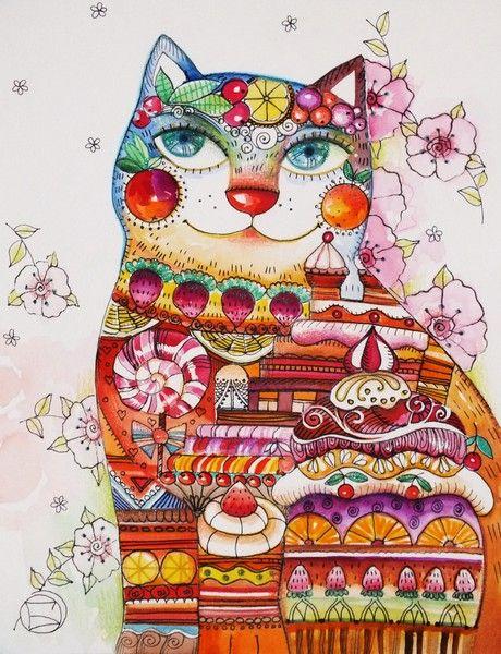 Chat Sucré by oxana zaika | ArtWanted.com