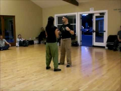 Tango Lesson:  Rebotes (switch steps) for Tango, Vals and Milonga with J...
