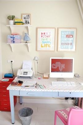 Very cute little office space :)