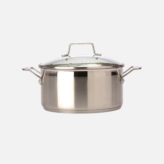 Scanpan Impact - Casserole Pot with Lid 24cm/4.8 litres