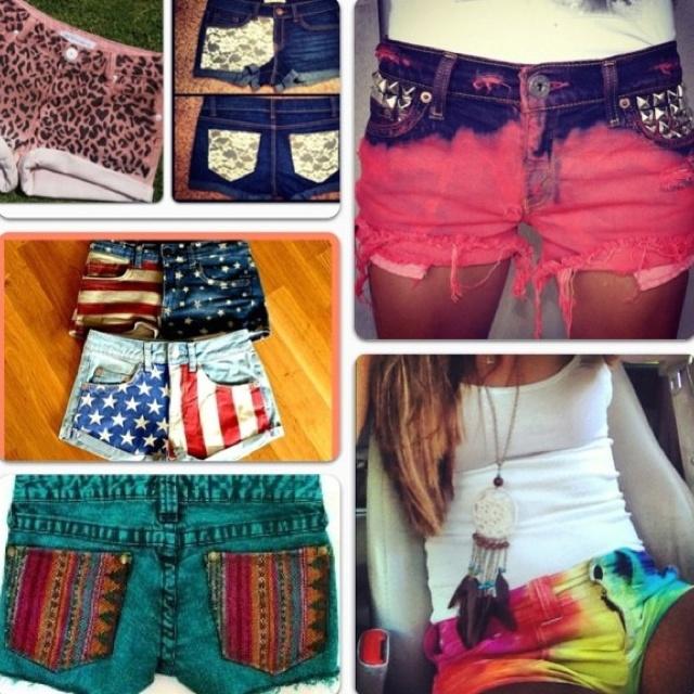 DIY shorts!❤