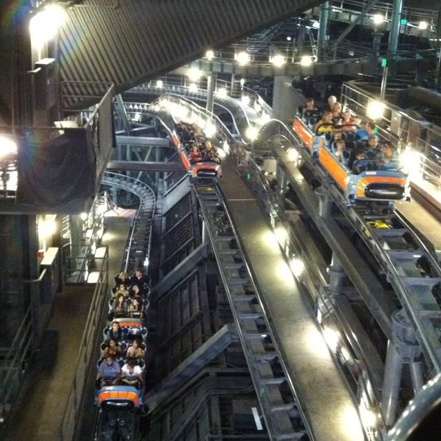 Space Mountain...lights on