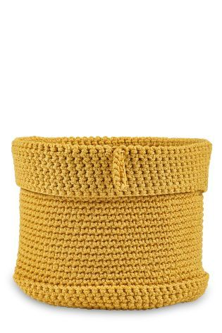 Buy Small Knitted Basket from the Next UK online shop