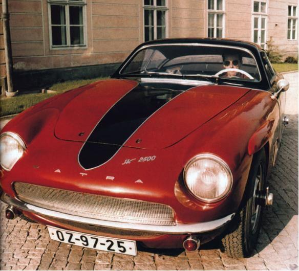 Tatra 2500 JK - Farbfoto ▼ ✂