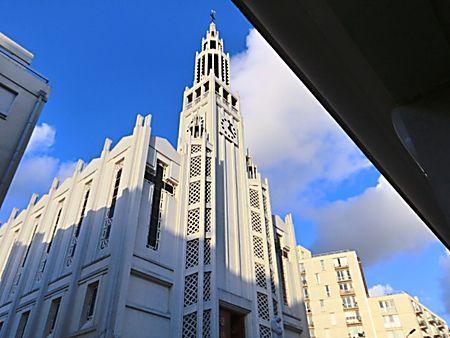 Eglise Saint Jean Bosco, 20ème arrondissement