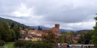 Regards et Vie d'Auvergne, le blog des Auvergnats.: Visitons L'Auvergne : l'abbatiale Saint-Sébastien ...