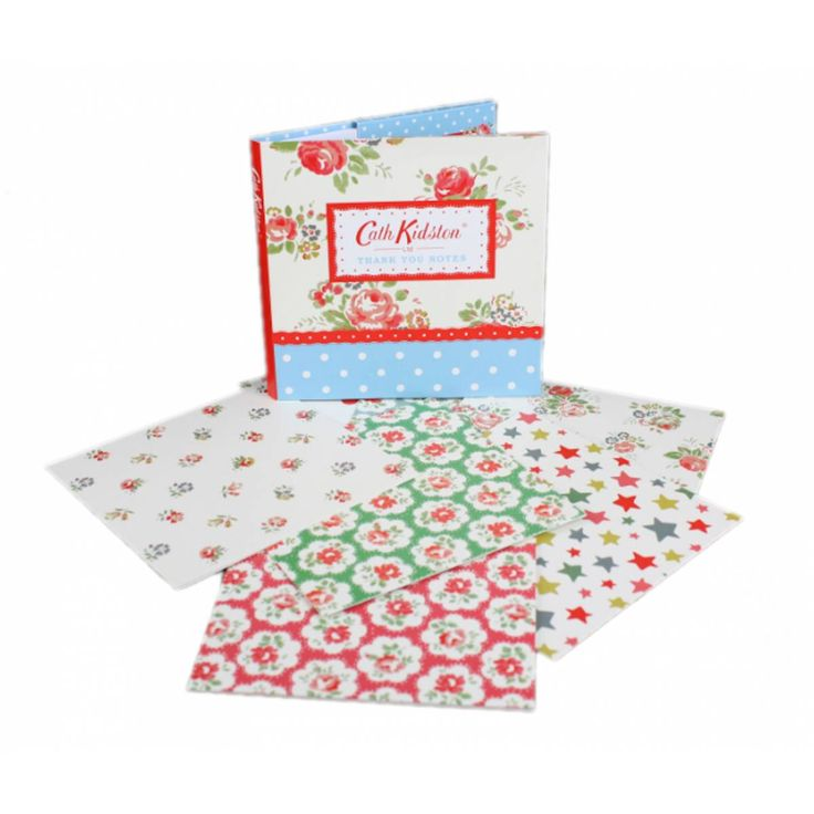 """Thank You Notecards.  Show gratitude in style with these elegant cards enclosed in a two-pocket folder. Each card is printed with """"Thank You"""" inside."""