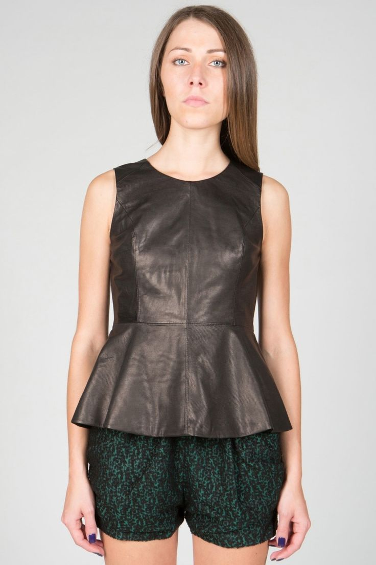 Find great deals on eBay for black peplum leather jacket. Shop with confidence.