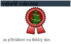 veselé vánoce-100 bodů-za přihlášení na štědrý den.