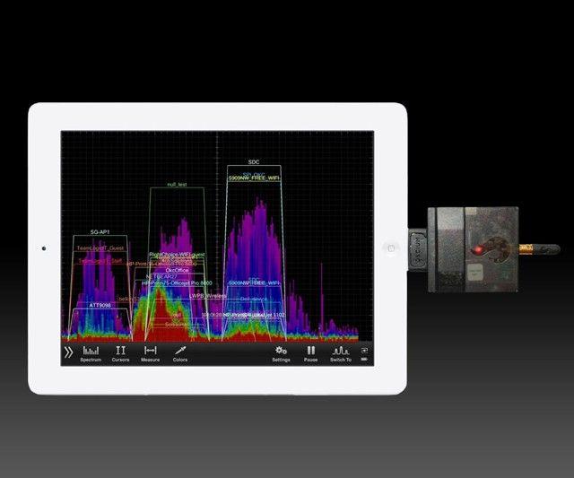 WiPry-Pro 2.4 GHz iOS Spectrum Analyzer - https://interwebs.store/wipry-pro-2-4-ghz-ios-spectrum-analyzer/ #Gadgets