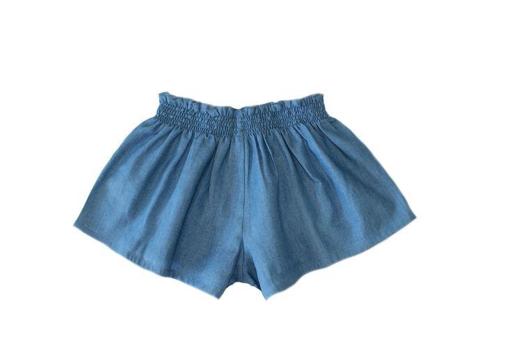 Duke Of London - Athena Swing Shorts - Denim