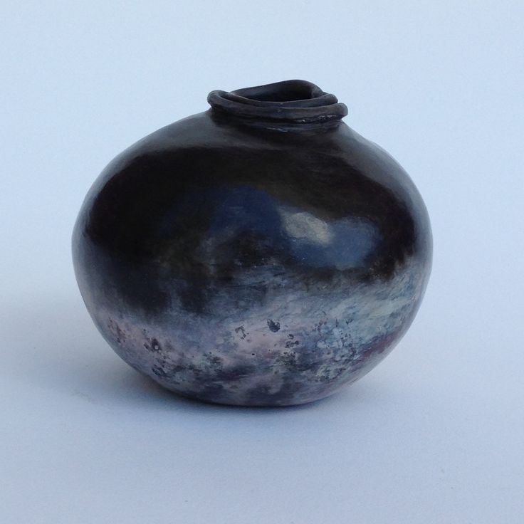 hand built, pit fired