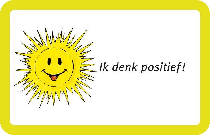 I'm thinking positive!