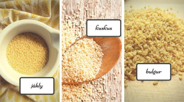 Zdravé vaření: Netradiční přílohy - jáhly, bulgur, kuskus