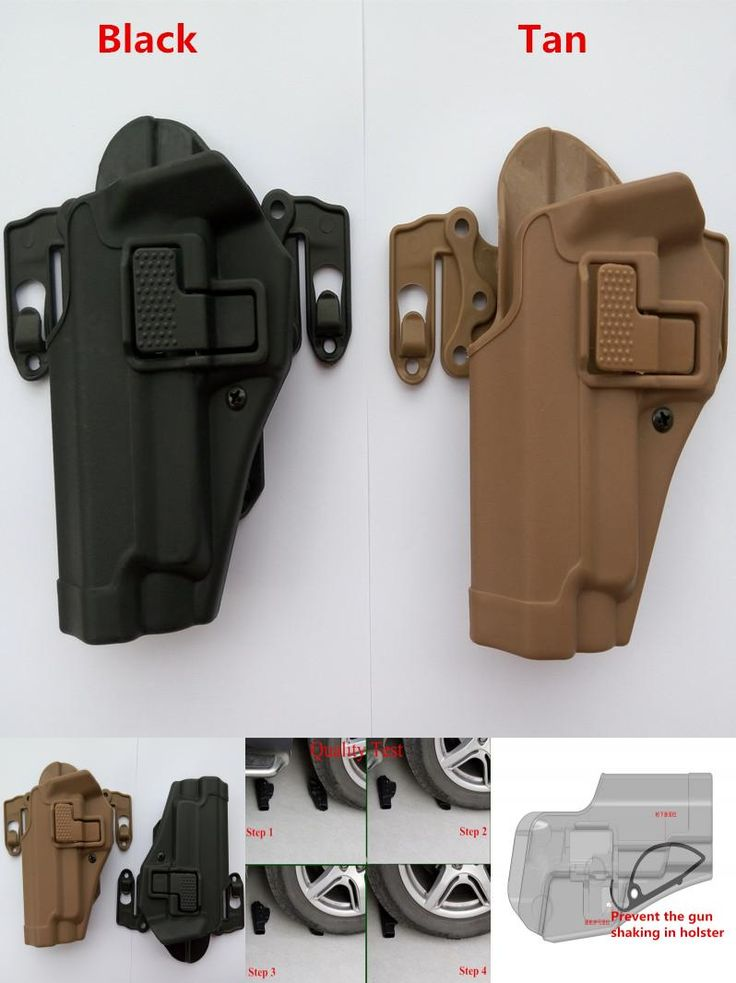 [Visit to Buy] Tactical 100% genuine High quality of military tactical Fit Chest Waist leg paddle Molle holster fit for P 226 P226 left hand #Advertisement