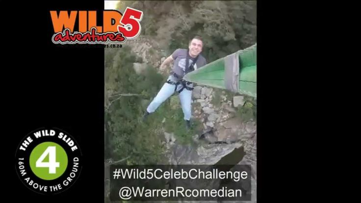 @GarethCliff personally nominated to take part in the #Wild5CelebChallenge. Is he brave enough? http://bit.ly/1NUrcaT