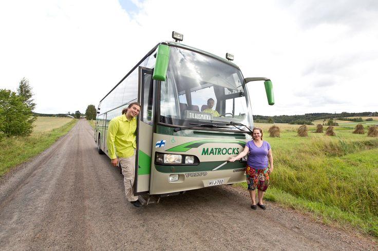 Fiilistelyä Matti-bussin kanssa. Kuvan ottanut Rami Marjamäki #matrocks #bus