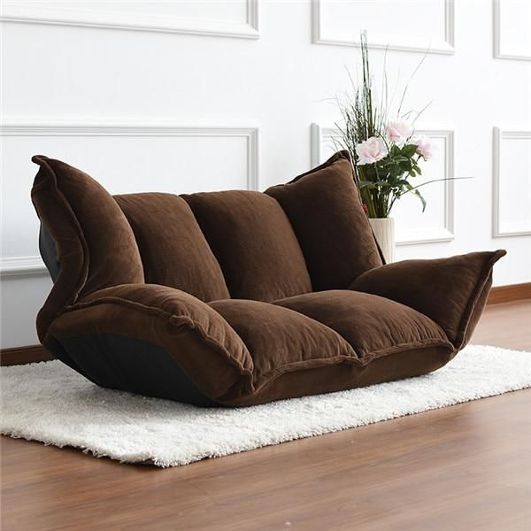 new arrival 81534 1f25c Floor Furniture Reclining Japanese Futon Sofa Bed Modern ...