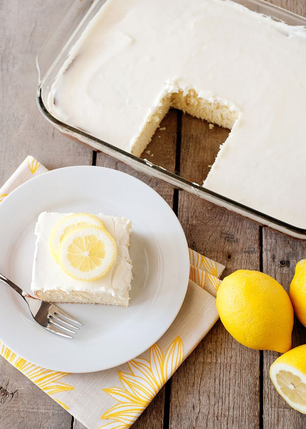 Recipe: Lemonade Cake