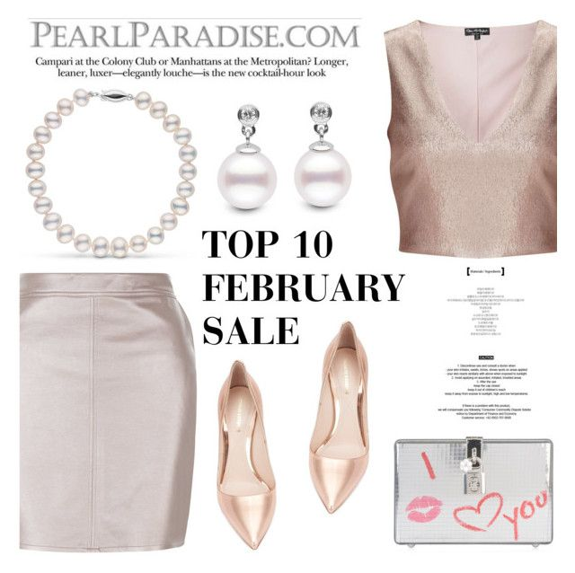 """""""TOP 10 FEBRUARY SALE BY Pearl Paradise"""" by pearlparadise ❤ liked on Polyvore featuring Miss Selfridge, Nicholas Kirkwood, Dolce&Gabbana and StyleNanda"""