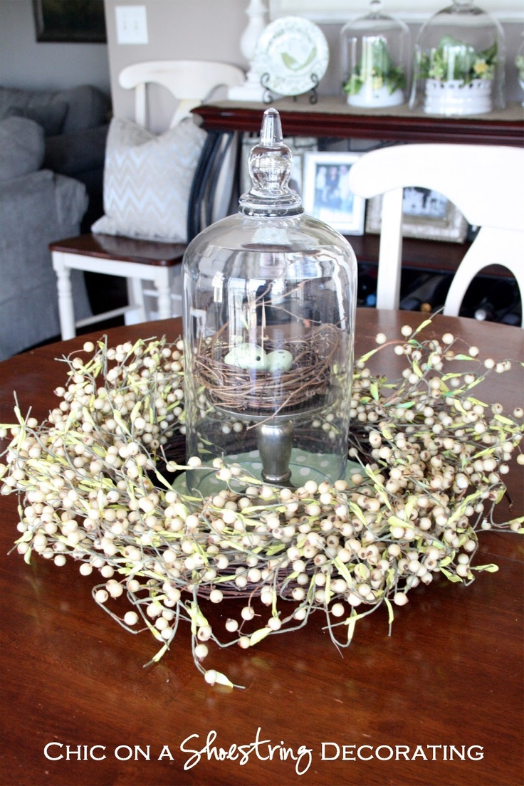 Spring Decor, Chic on a Shoestring Decorating