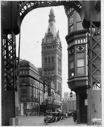 Milwaukee City Hall and the Pabst Theater