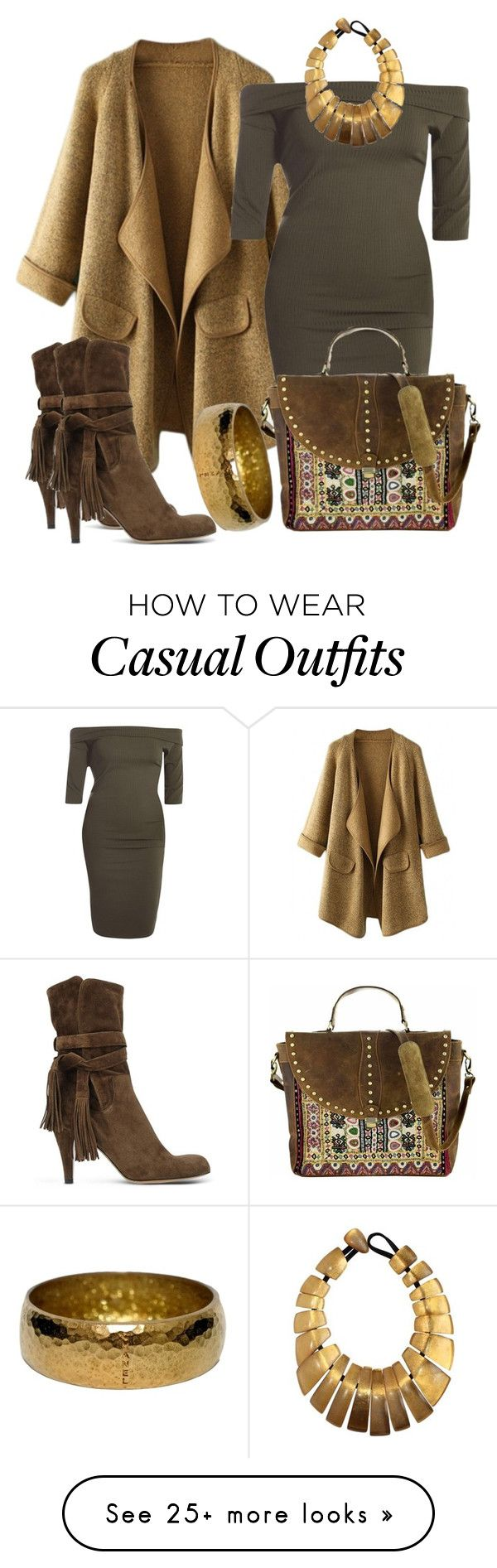 """casual"" by alice-fortuna on Polyvore featuring Vintage Addiction, Chloé, Chanel, Monies, women's clothing, women's fashion, women, female, woman and misses"