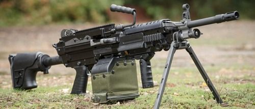 gun-shtuff: The FN MINIMI Light Machine Gun
