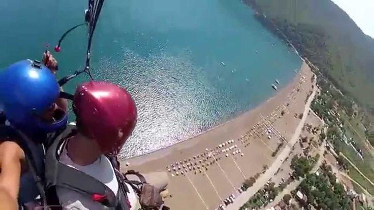Turkey, Kemer, Paraglider. Türkei, Kemer,Gleitschirm.Turquie Kemer,Parap...