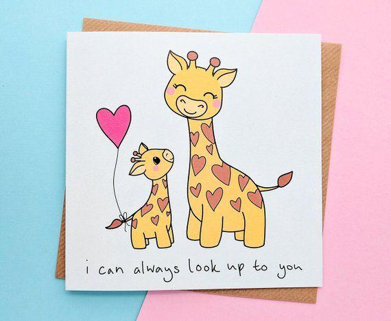 Cute Mothers Day Card Best Mum Cards Grandma Card Mum Birthday