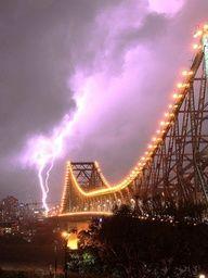 Storms over Brisbane