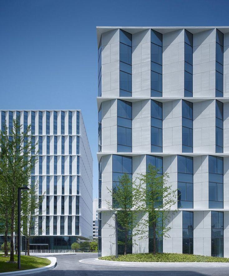 3Cubes Office Building, Shanghai, 2015 - gmp Architekten