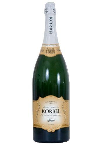 Korbel Brut, 3.0L $90