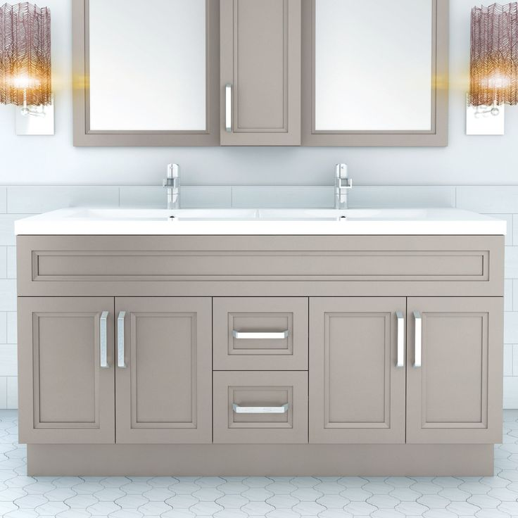 "Urban 60"" Vanity Double Bowl"